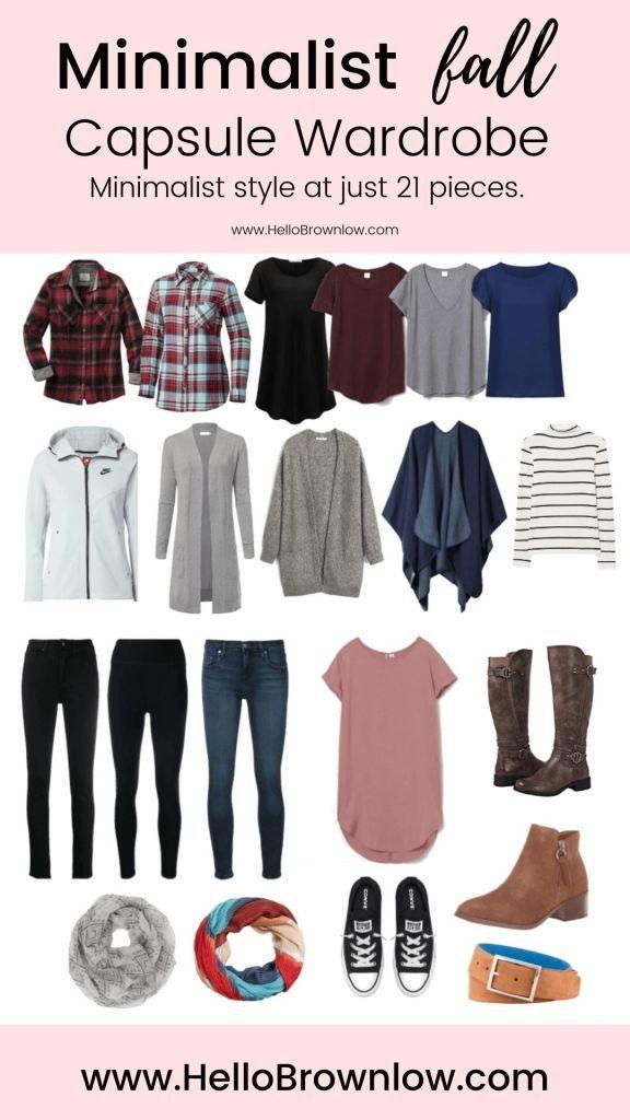 Minimalist Fall Capsule Wardrobe | Hello Brownlow
