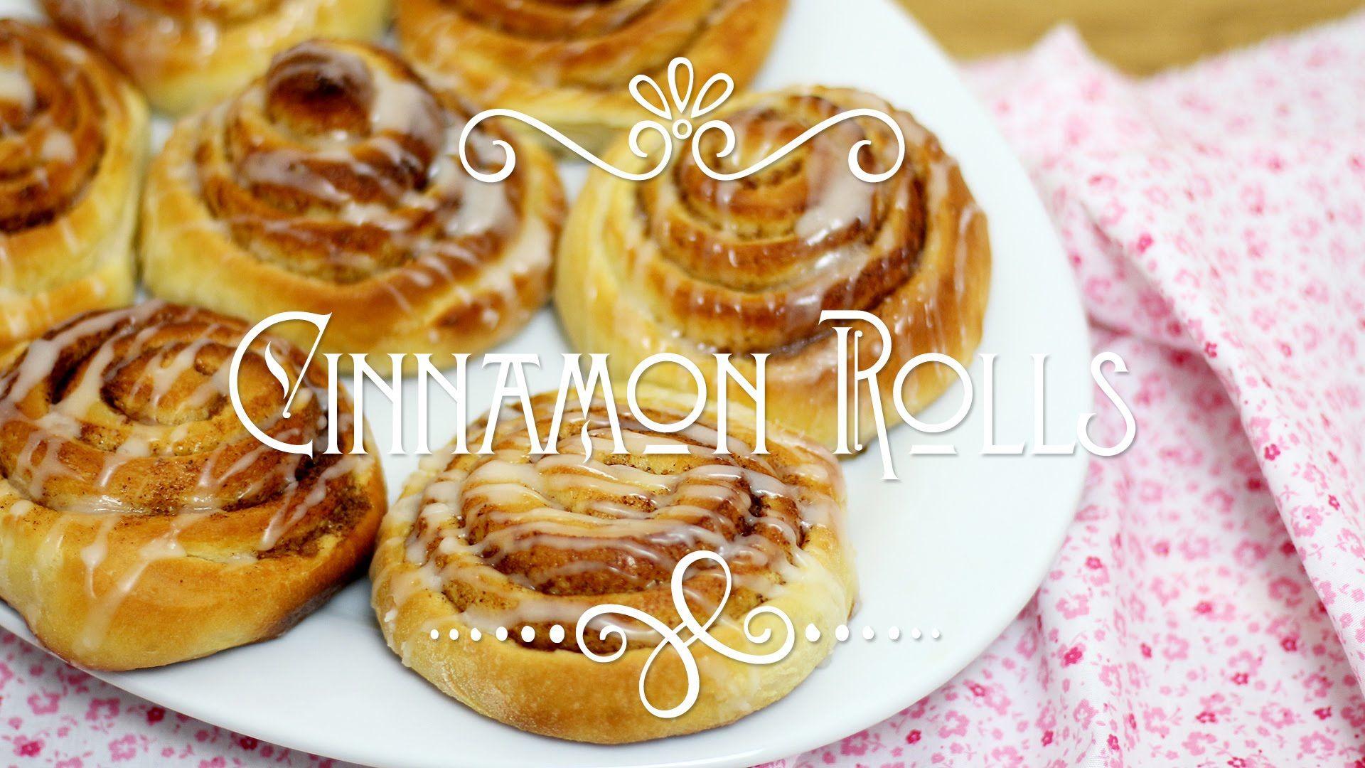 Cinnamon Rolls - Pãozinho de Canela