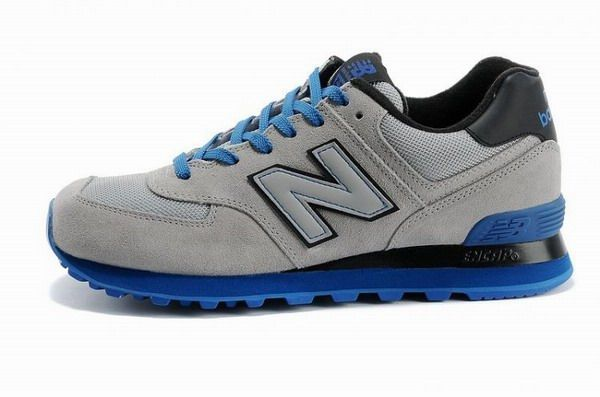 Joes New Balance Ml574gky Sneakers Sole Neon Grey Blue Black Mesh Suede Mens Shoes New Balance Shoes New Balance 574 New Balance