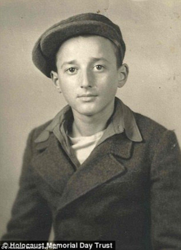 Ivor Perl after his liberation, when he was just 14 years old