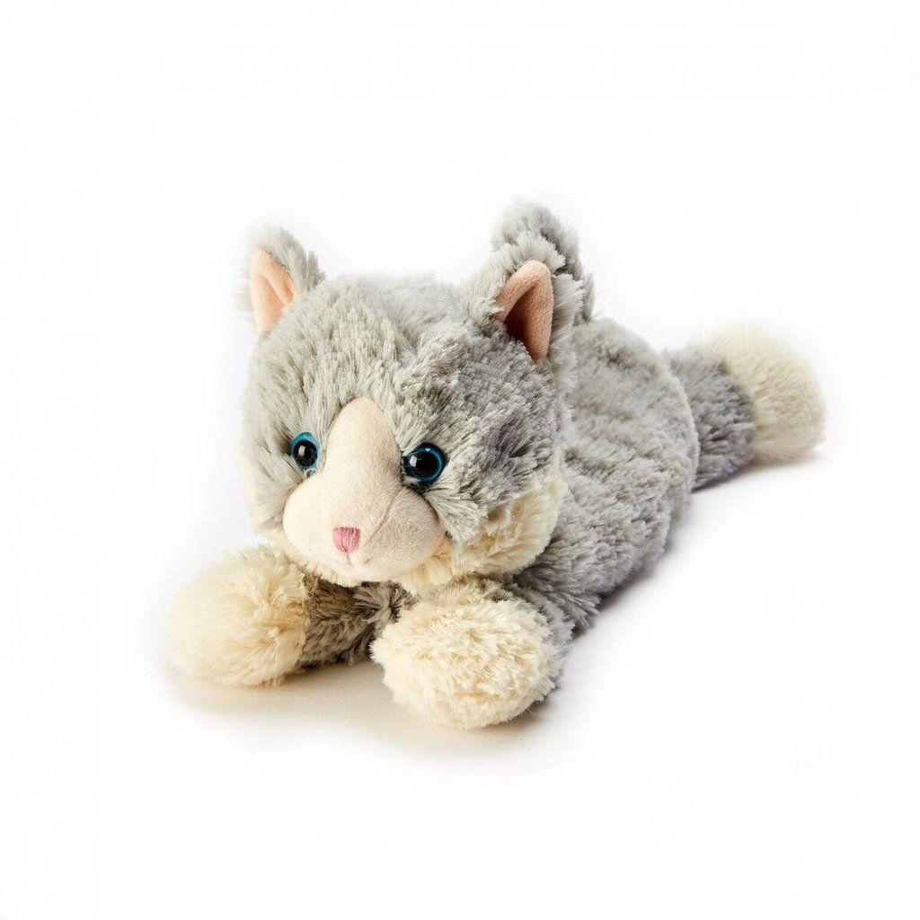 Heatable Stuffed Animal Cat Laying Down Stuffed animal