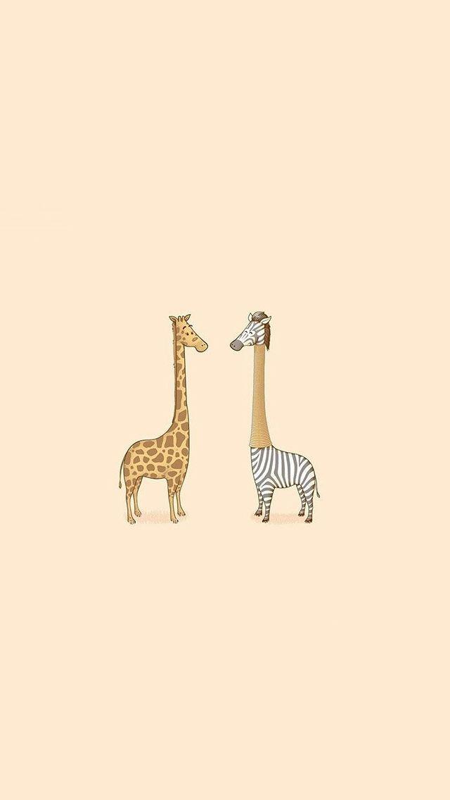 Cute Giraffe Yellow Animal Minimal Iphone 5s Wallpaper Download Iphone Wallpapers Ipad Wallpapers One Cute Wallpapers Iphone Wallpaper Wallpaper Iphone Cute