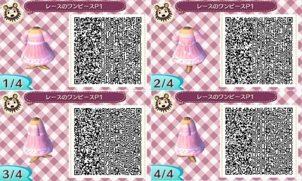 48efd6a127d Simple pink dress. Qr codes.