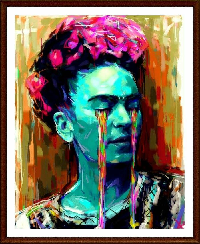 Llorando colores art pinterest color frida - Nombres de colores de pinturas ...