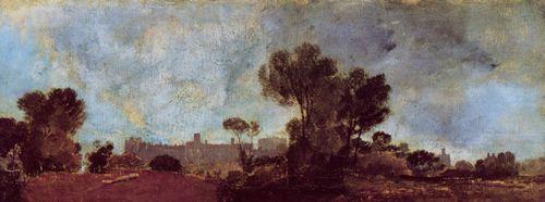 Turner, Joseph Mallord William: Windsor Castle von Salt Hill aus gesehen (Windsor Castle from Salt Hill)