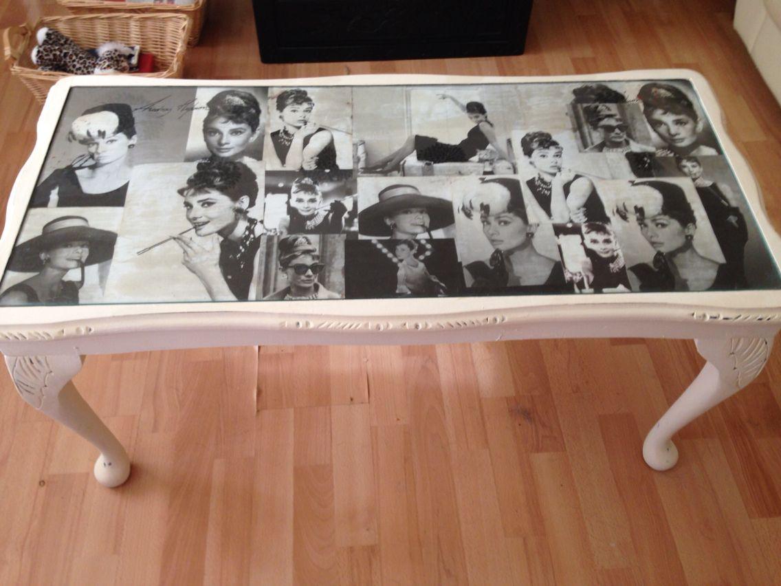 Chalk Paint Finish With Audrey Hepburn Decopague Decoupage  # Hepburn Muebles