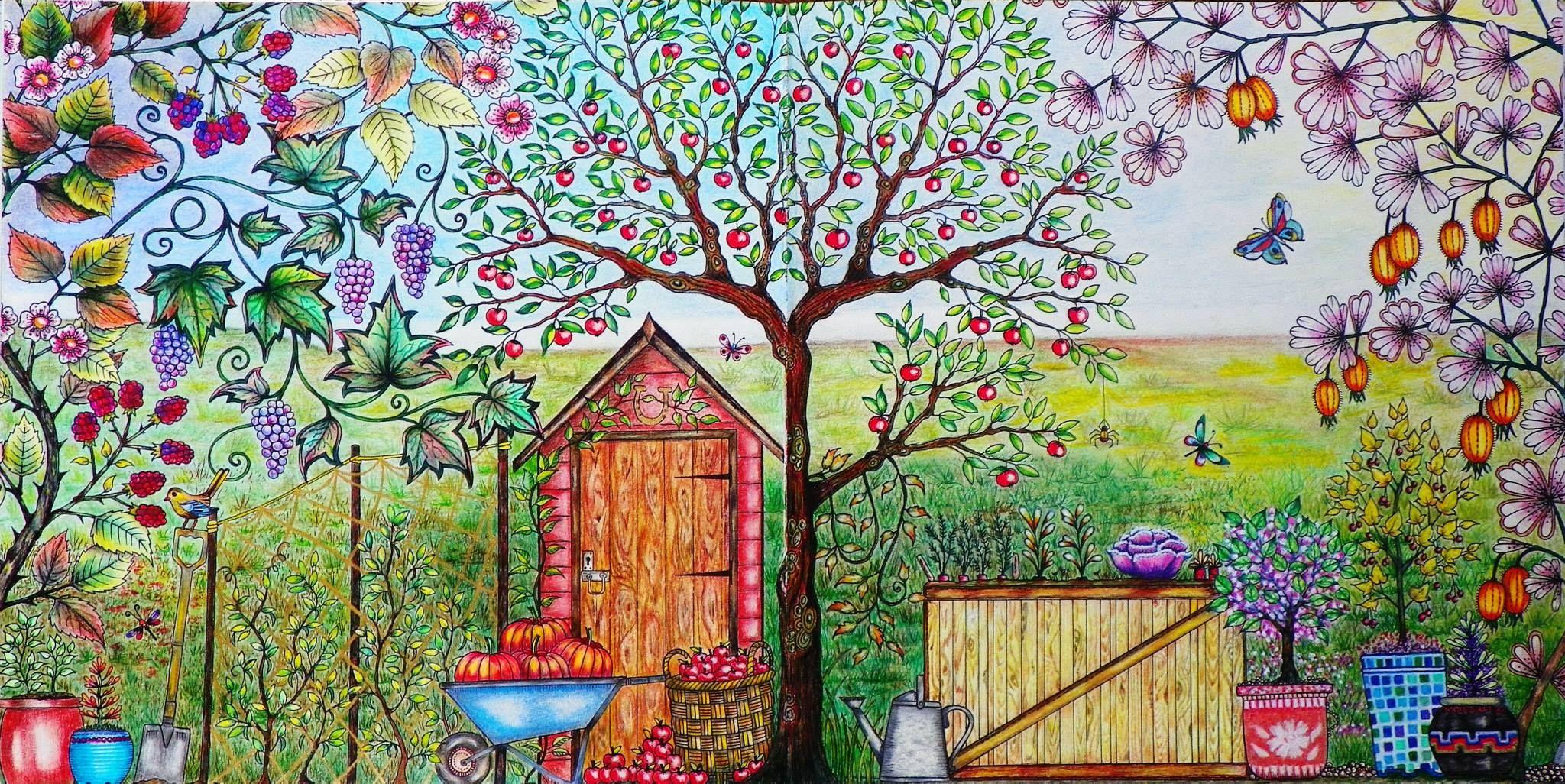 рисунок волшебный сад покажется