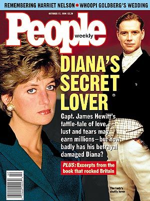 Photo affairs james hewitt cover princess diana cover Diana princess of wales affairs