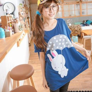 Buy 'YoungBaby – Rabbit-Print Top' at YesStyle.com plus more Taiwan items and get Free International Shipping on qualifying orders.