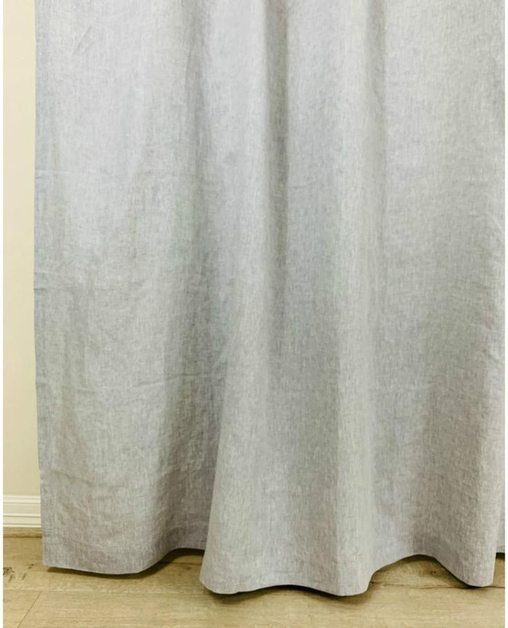 Organic Linen Shower Curtain Rustic Shower Curtains Cotton Shower Curtain Gray Shower Curtains