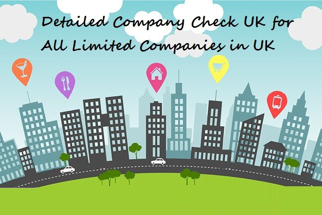 Detailed #CompanyCheck #UK for All Limited Companies in UK