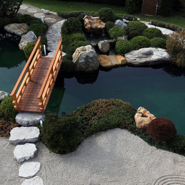 Natural Inspiration Koi Pond Design Ideas For A Rich And: Garten, Gartengestaltung, Ideen Und Bilder