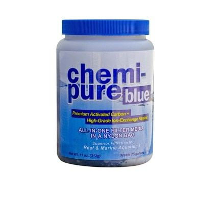 Chemi Pure Blue 11 Oz All In One Filter Media For Reef And Marine Aquariums Pure Products Marine Aquarium Aquarium Systems