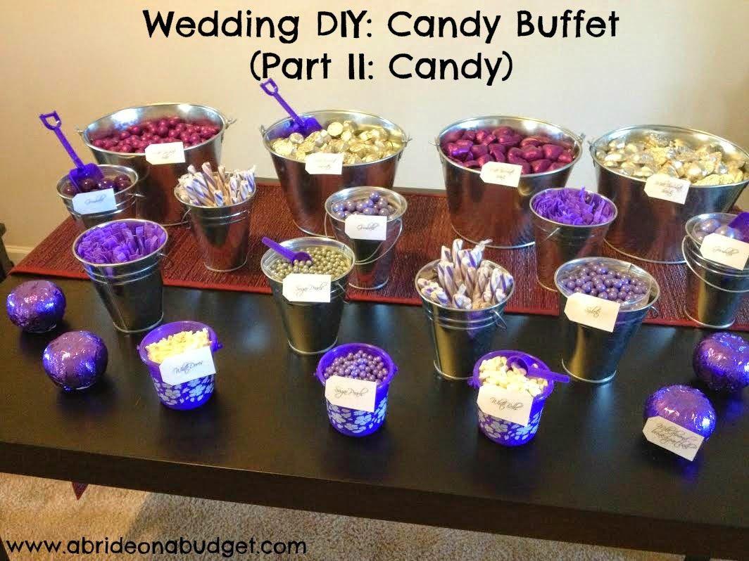 Wedding Diy Candy Buffet Part Ii Candy Bar Math Candy Buffet