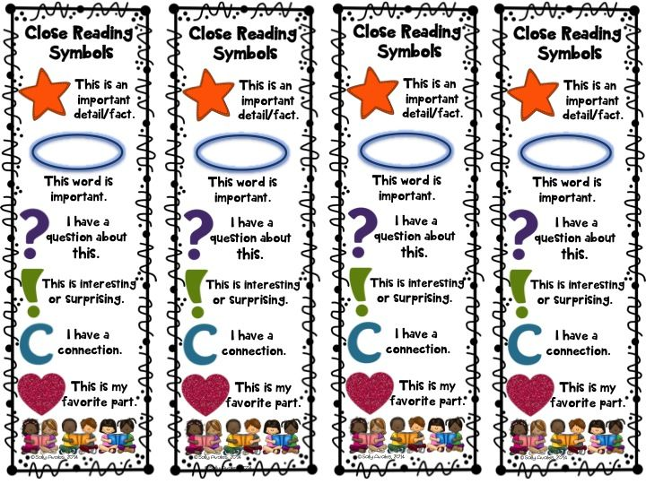 These Annotation Symbol Book Marks Are A Must When You Re Doing Close Reading Included Are 1 Color Close Reading Symbols Close Reading Close Reading Bookmarks