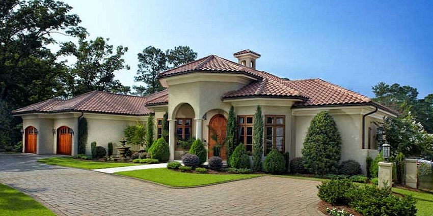 Exterior Paint Colors Mediterranean Style Homes For 2018 Home