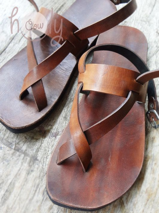 3e346b95e Handmade Sandals Leather Sandals Mens Sandals. by HolyCowproducts