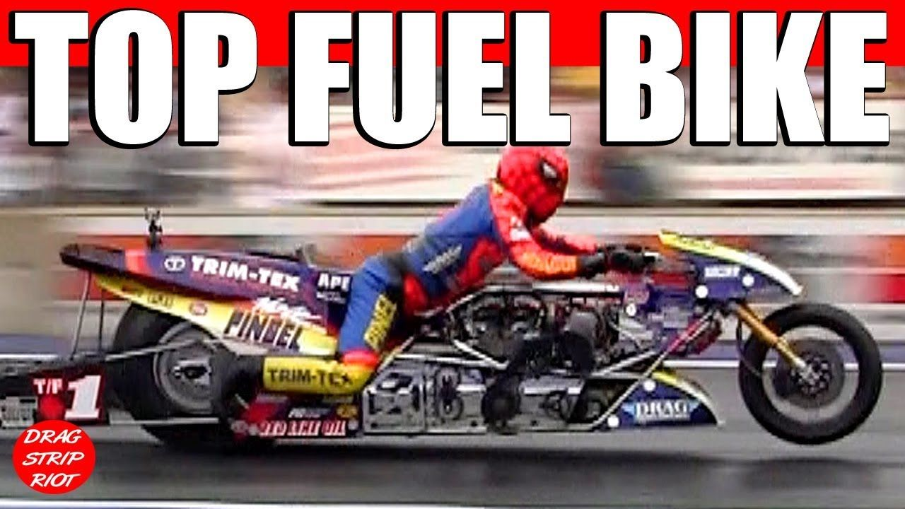 Top Fuel Motorcycle Drag Racing Nitro Bike Youtube Top Fuel