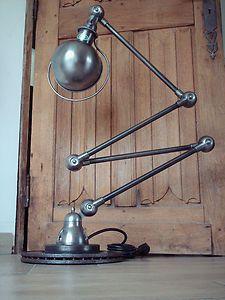 Belle Lampe Jielde 4 Bras Polie Graphite Atelier Loft Ebay