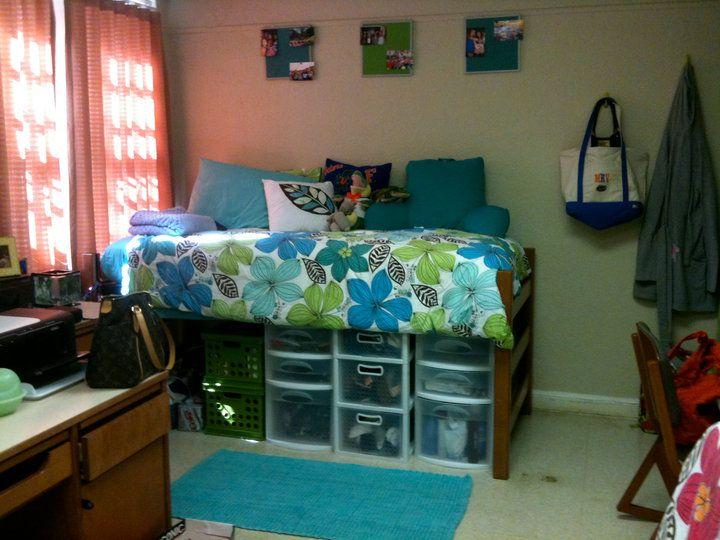 Moore Designs: Dorm Life For Real · Bed RisersDorm DecorationsCollege Dorm  RoomsDorm ... Part 90