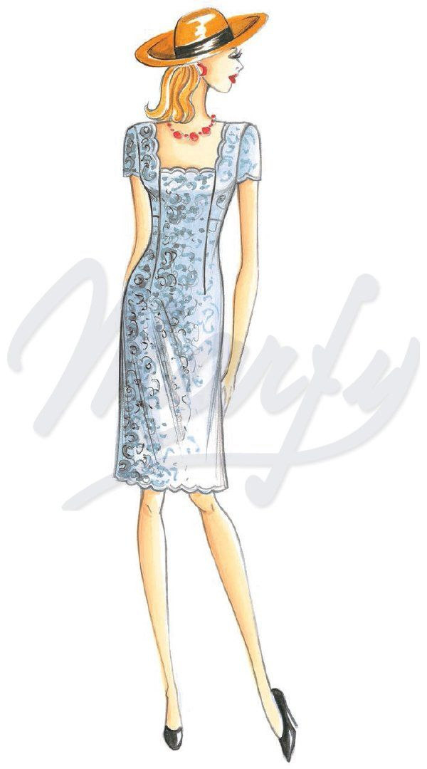 The Marfy hand made pre-cut sewing pattern :: Latest Additions ...