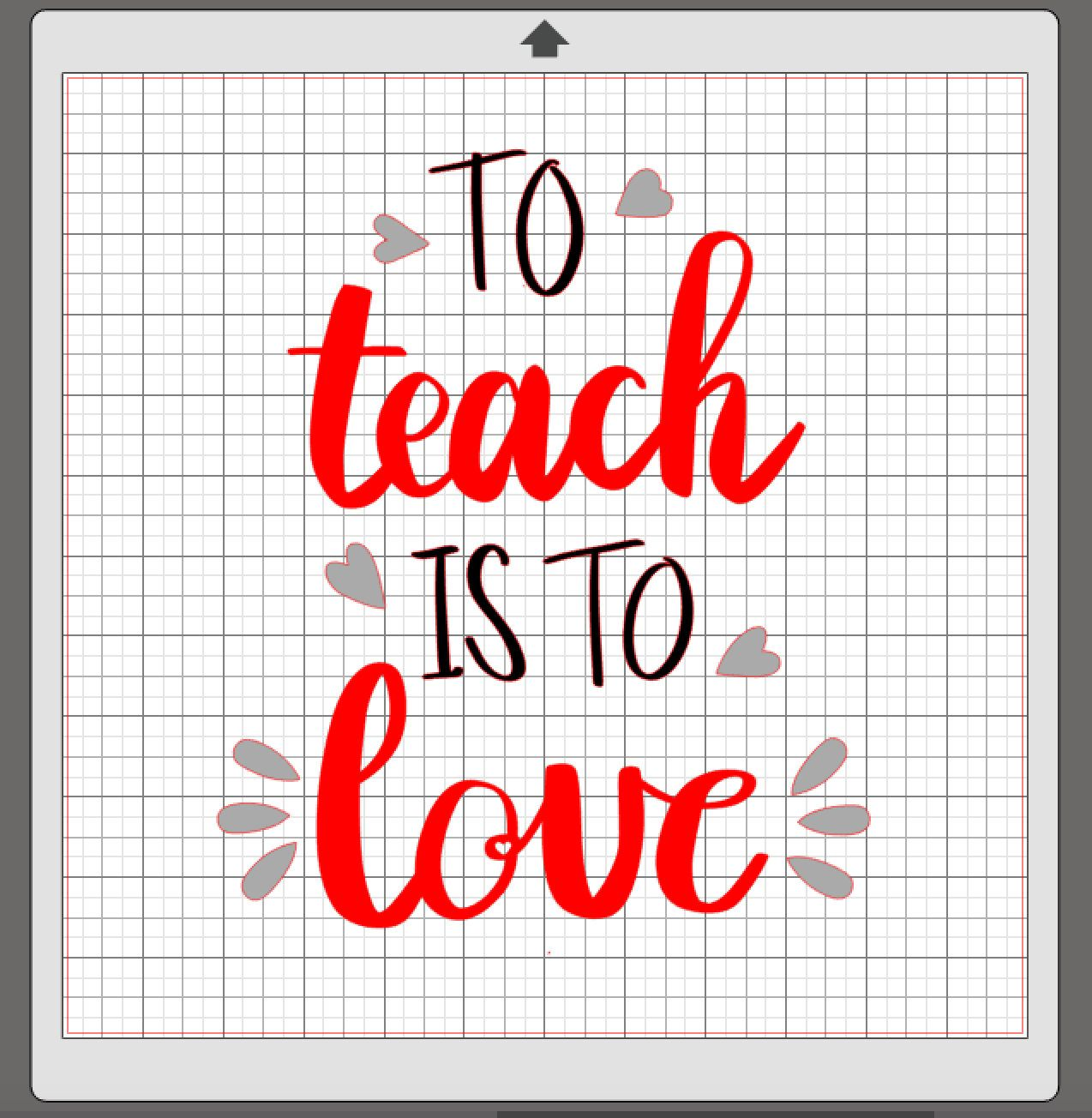 Download To Teach Is To Love SVG File - just added to my Etsy store ...