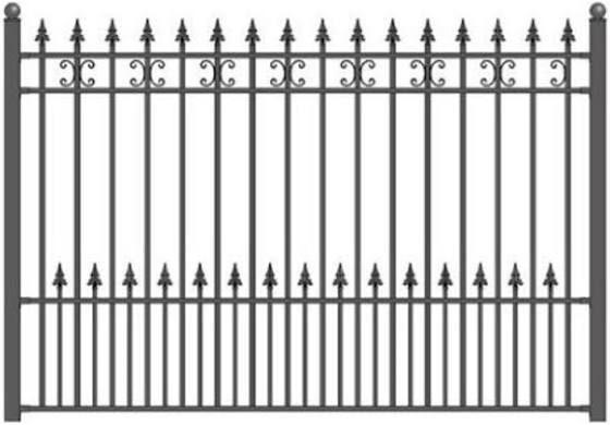Antique Wrought Iron Fence Craigslist Fences Wrought Iron
