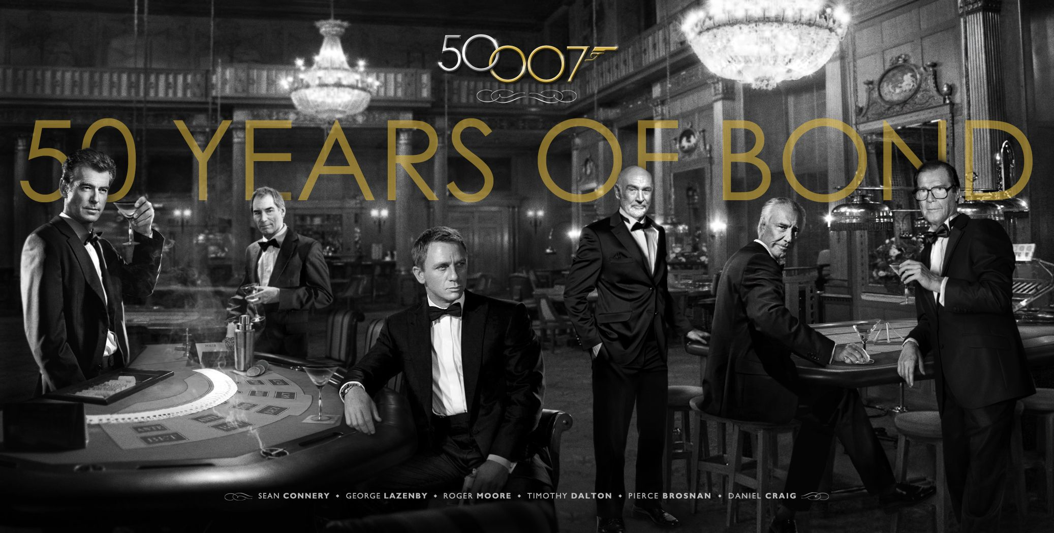 james bond 50th anniversary book