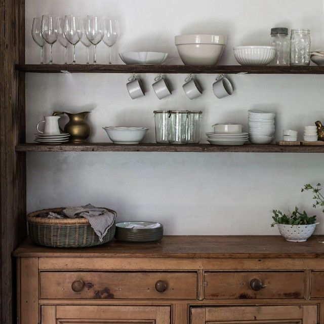 Kitchen Shelf Inspiration: Kitchen Styling And Renovation Inspiration