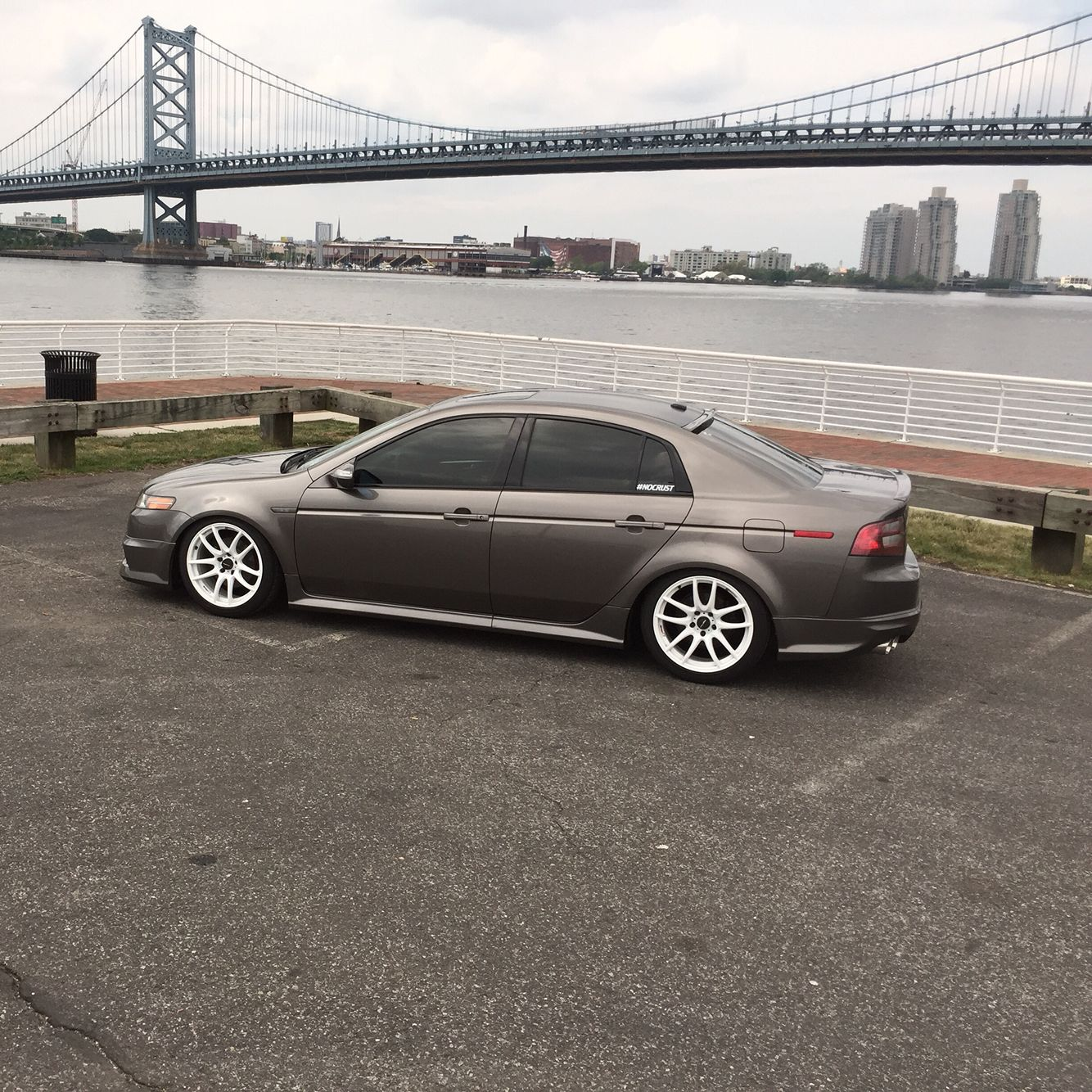 Acura TL #stanced #car #cars #acura #TL #slammed #low
