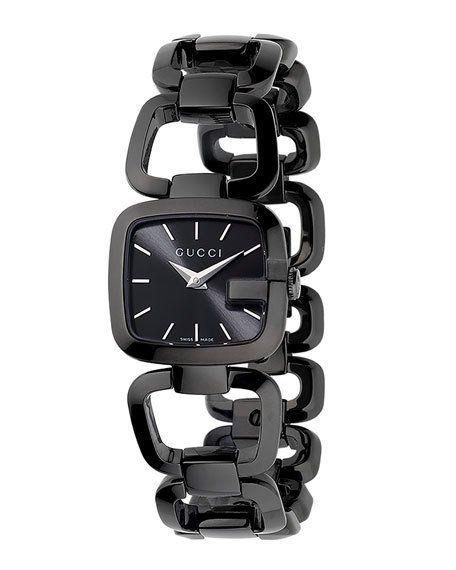 51bbff9c10b Gucci Small Black PVD Bracelet Watch