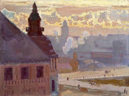 Antti Favén-Morning-Helsingfors Finland