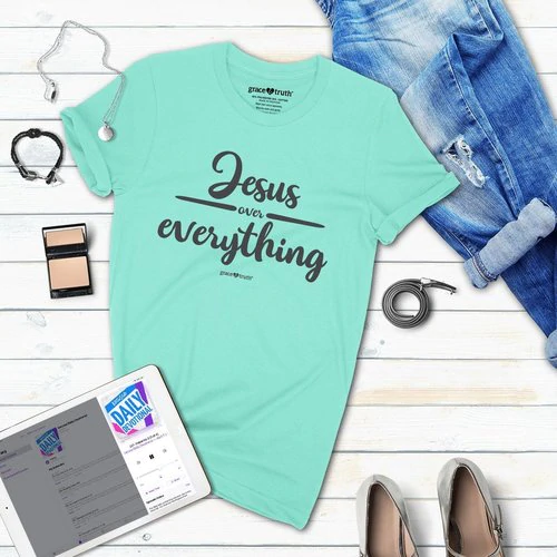Grace & Truth Jesus Over Everything Women's T-Shirt