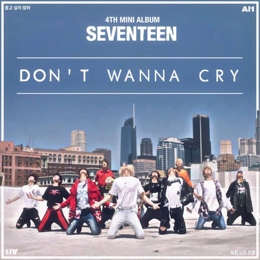SEVENTEEN DON'T WANNA CRY (AL1) album cover #1 by LEAlbum