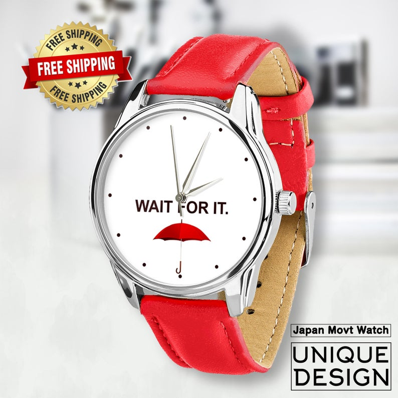 Wait for it Watch | Red Umbrella Watch
