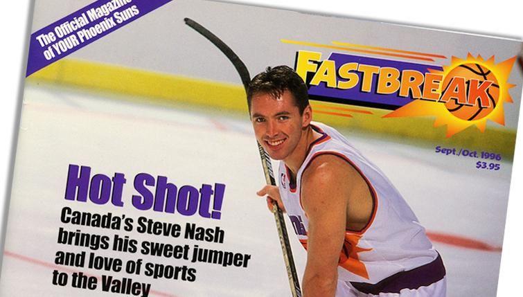 Having fun taking a trip down memory lane with @SteveNash.   Canadian Kid >> http://www.nba.com/suns/nashroh/nashroh-canadian-kid…