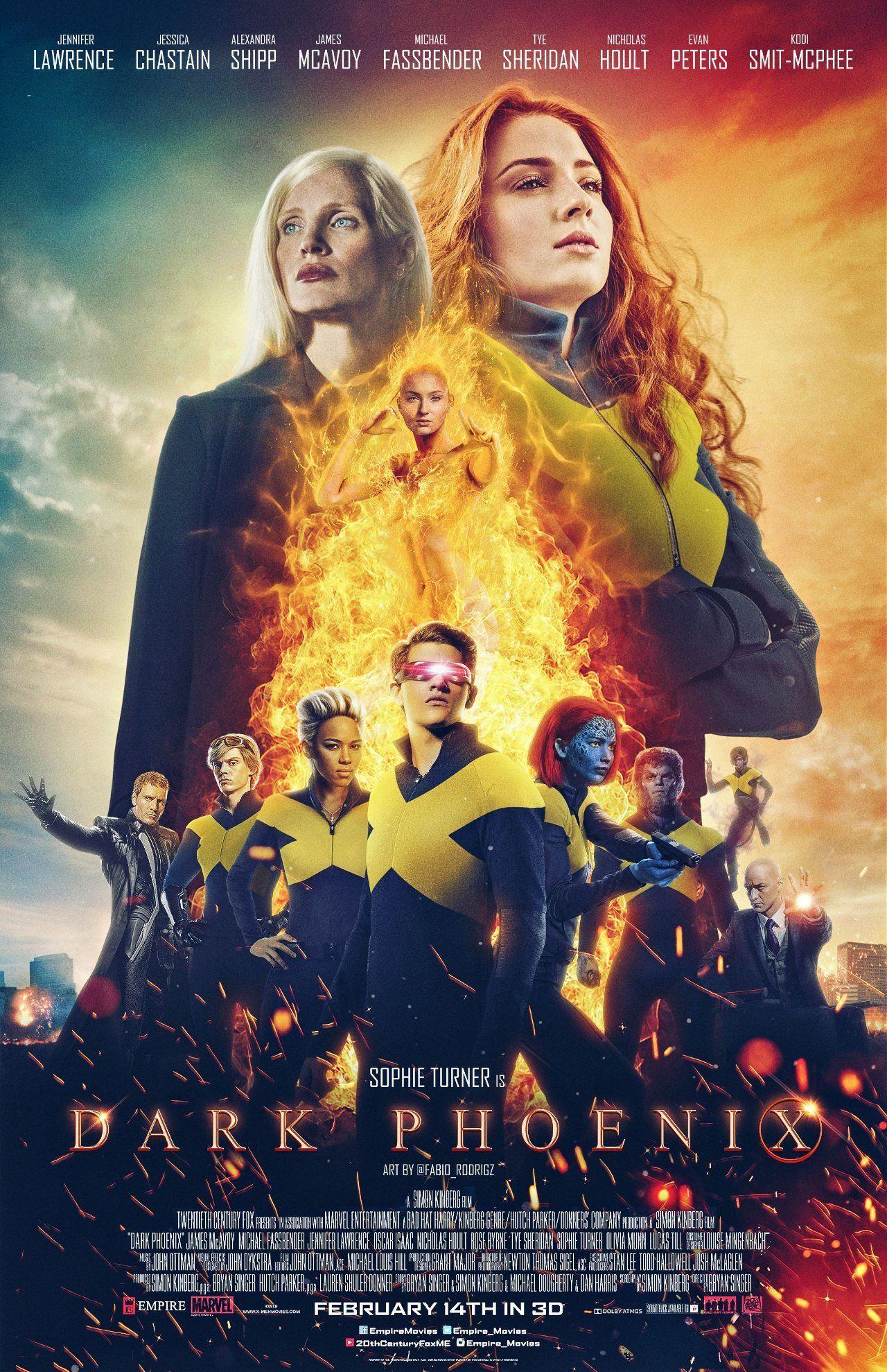 Dark Phoenix Trailer Dark Phoenix X Men The New Mutants