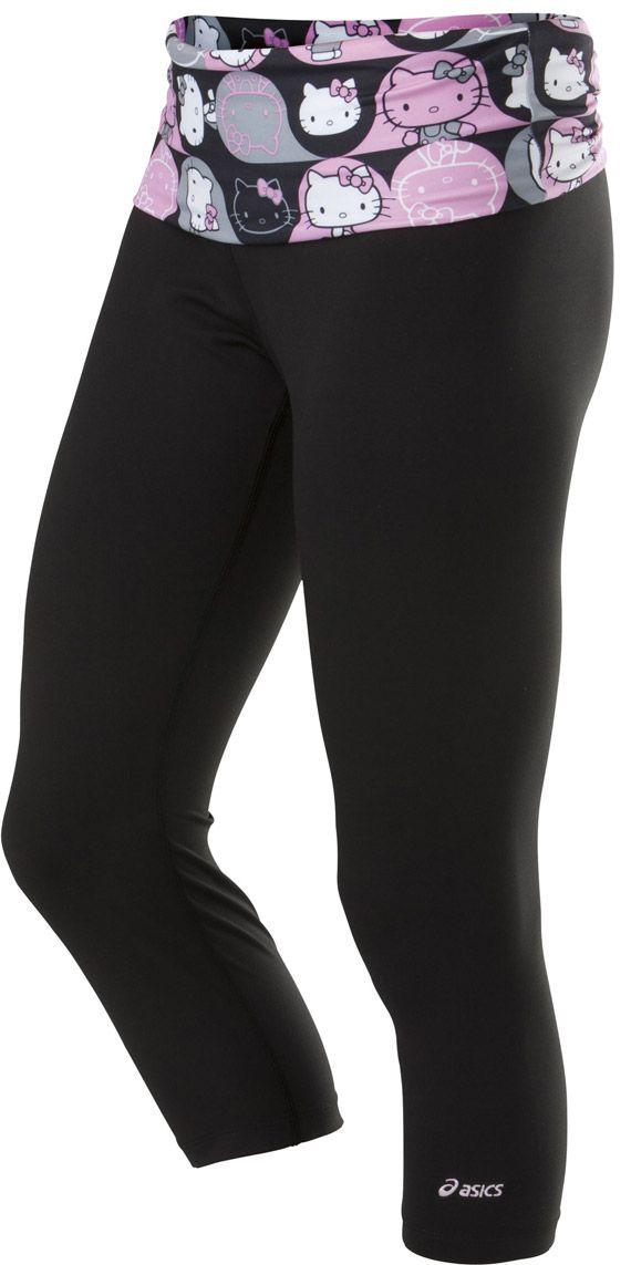 1c1299be4 ASICS x Hello Kitty Capri Leggings: Pink | Health and Wellness ...