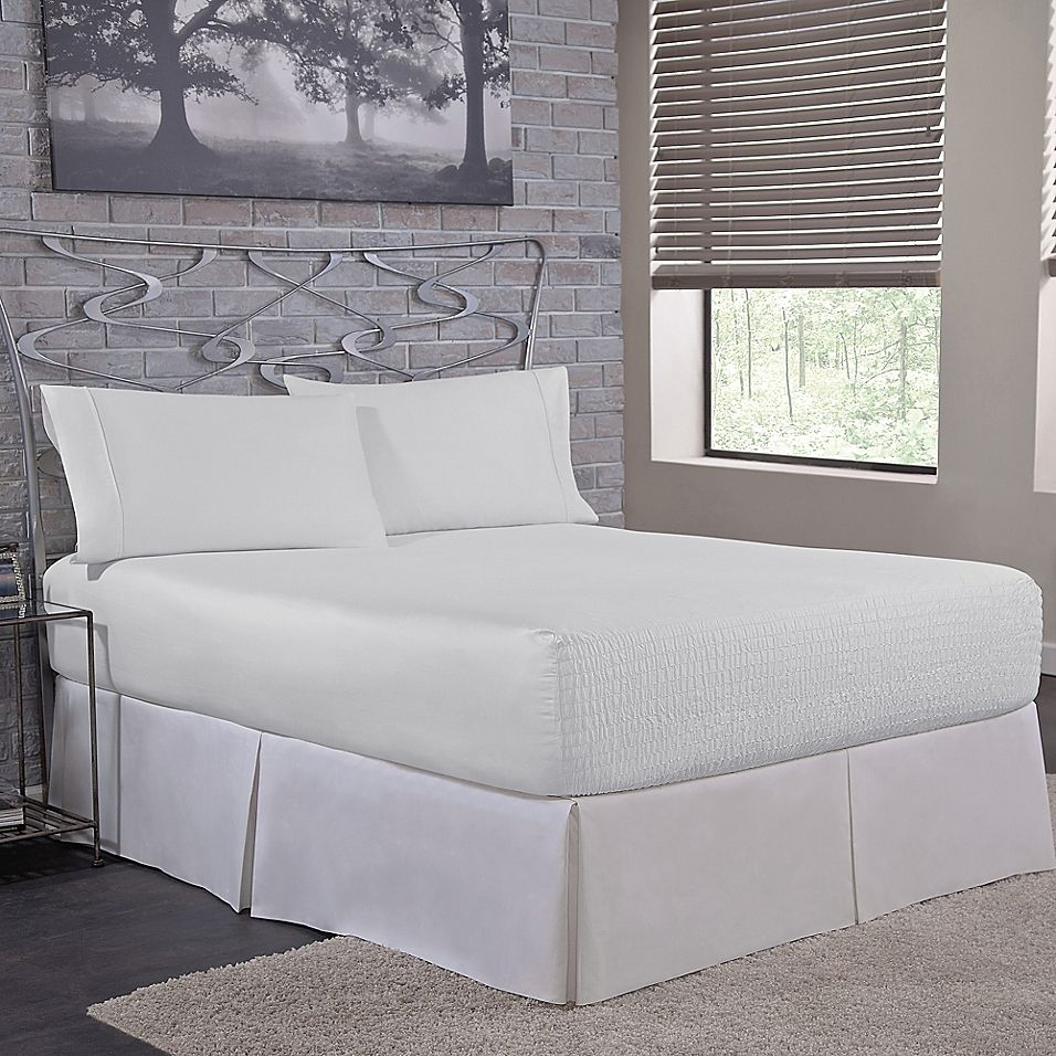 Dupont Comfordry Cooling Queen Sheet Set In White King Sheet