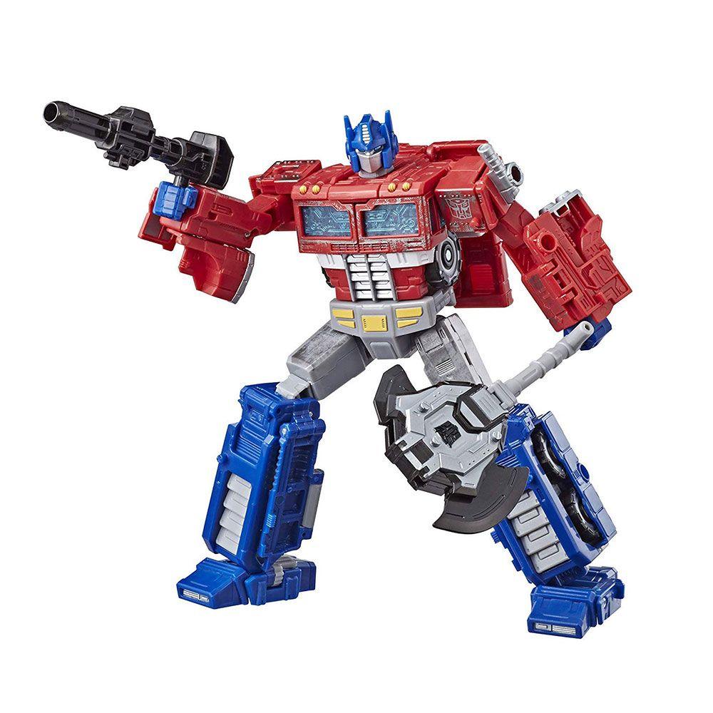 Regalo para niños Optimus Prime Toy Transformadores Cyberverse Clase guerrera