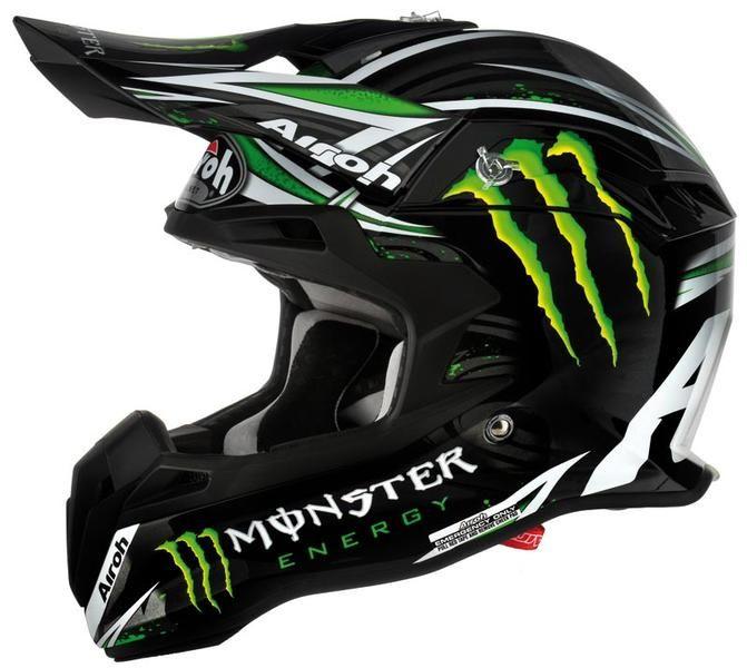 Airoh Terminator Monster Enduro Motorcycle Helmets Biker