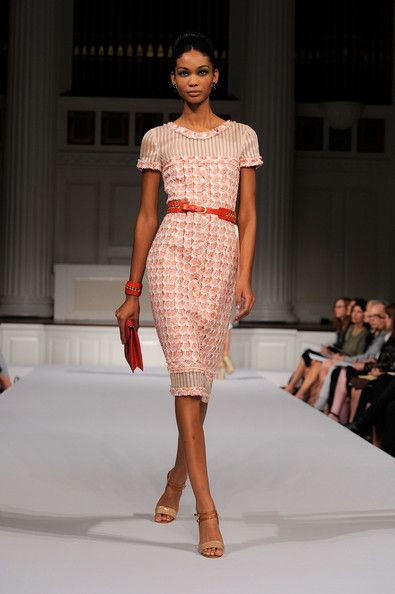 98846528 Chanel Iman Runway | oscar de la renta runway spring 2011 mbfw in this  photo chanel iman a .