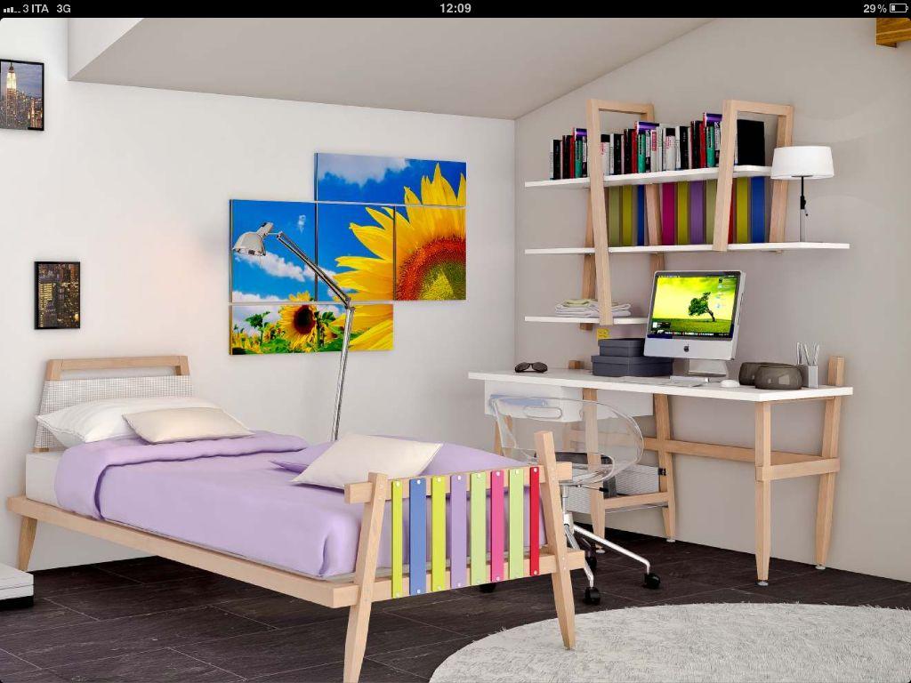 Design Camerette ~ Bonetti camerette www.camerette.org #camerette #letti #bed