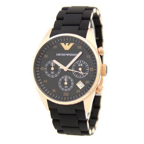 0edf4264 Emporio Armani Women's AR5906 Fashion Black Dial Watch #Emporio ...