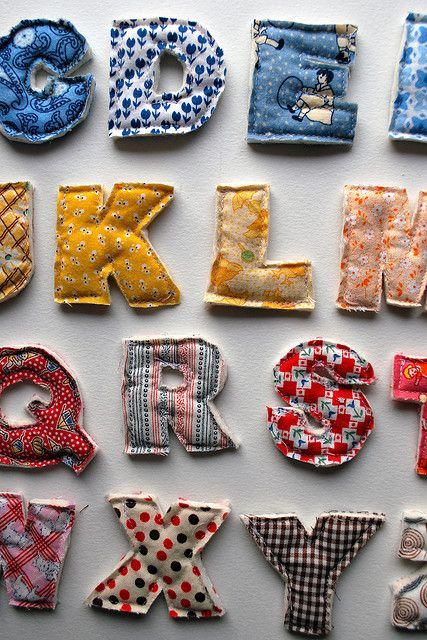 Alphabet Magnets2 in a Row6 by Beeper Bebe, via Flickr