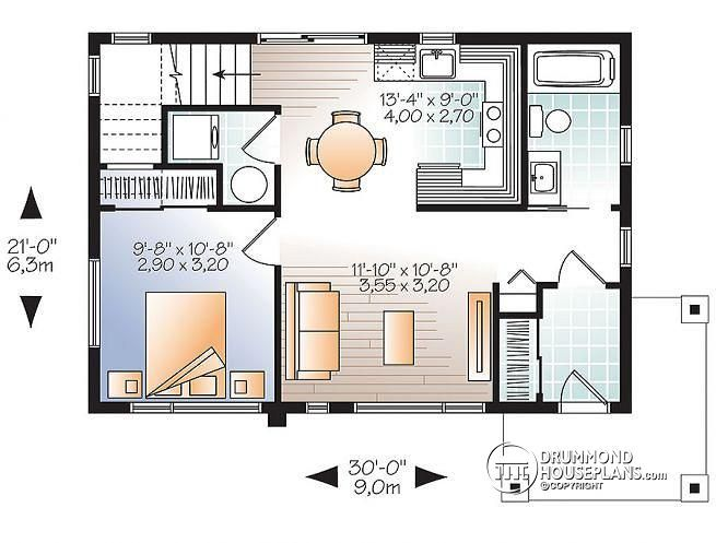 1st level 2-storey 2 bedroom small and tiny Modern house ...