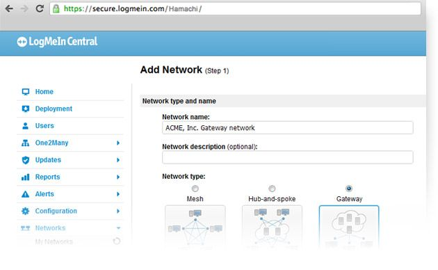 Free VPN Software: Virtual Networking with LogMeIn Hamachi   LogMeIn Hamachi