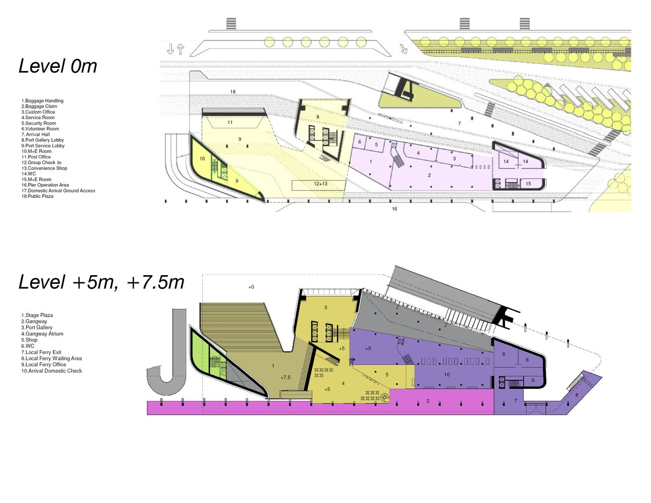 Gallery of Kaohsiung Port and Cruise Service Center Proposal / JET Architecture, CXT Architects & Archasia Design Group - 4