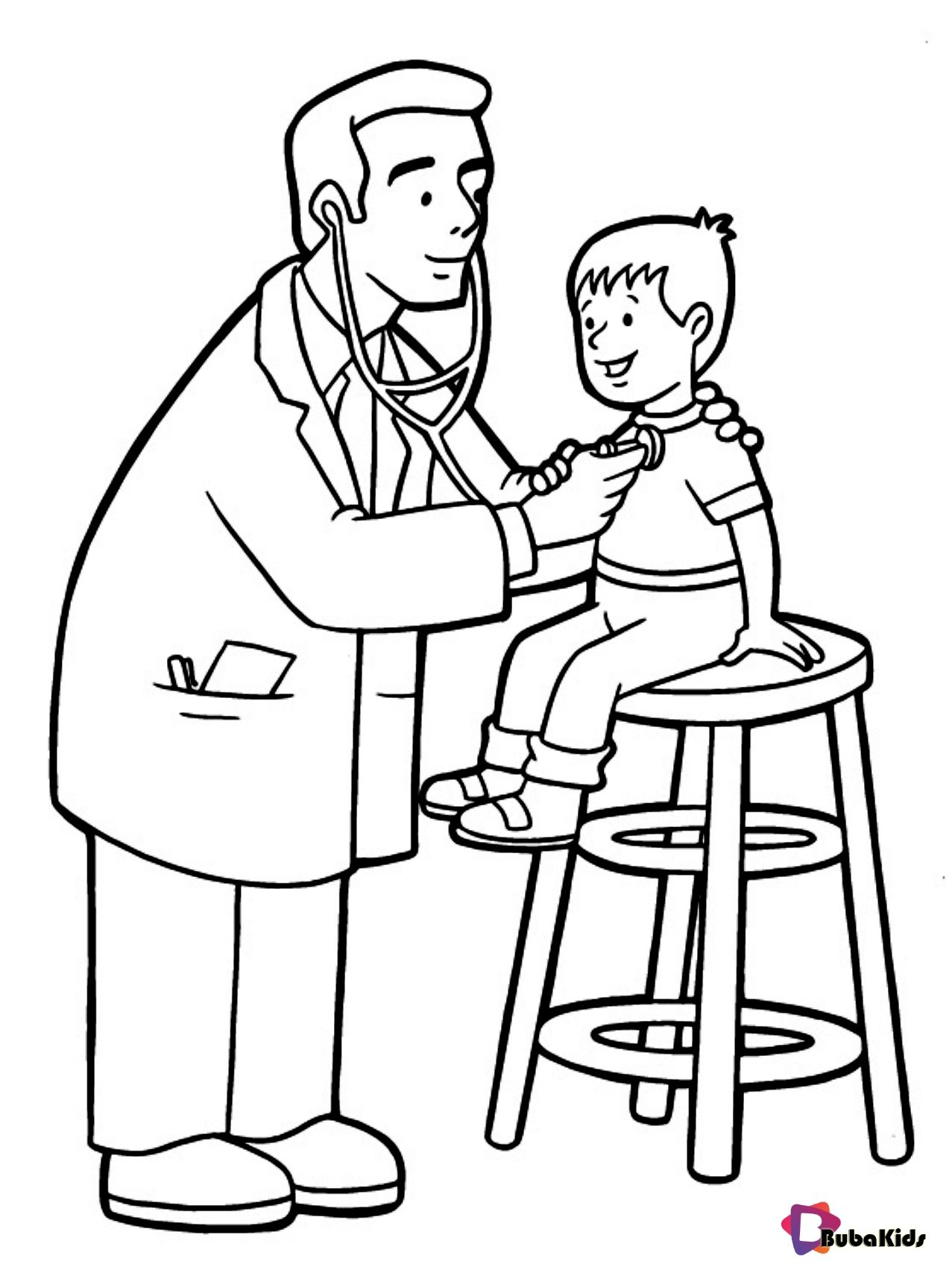 Doctors Nurses And Medical Workers Coloring Pages Collection Of Cartoon Coloring Pages Fo In 2020 Coloring Pages For Kids Super Coloring Pages Cartoon Coloring Pages