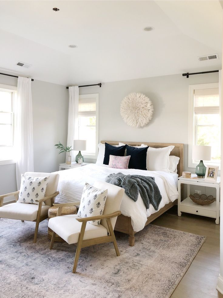 Best Bedroom With Benjamin Moore Gray Owl Pottery Barn Bed 400 x 300